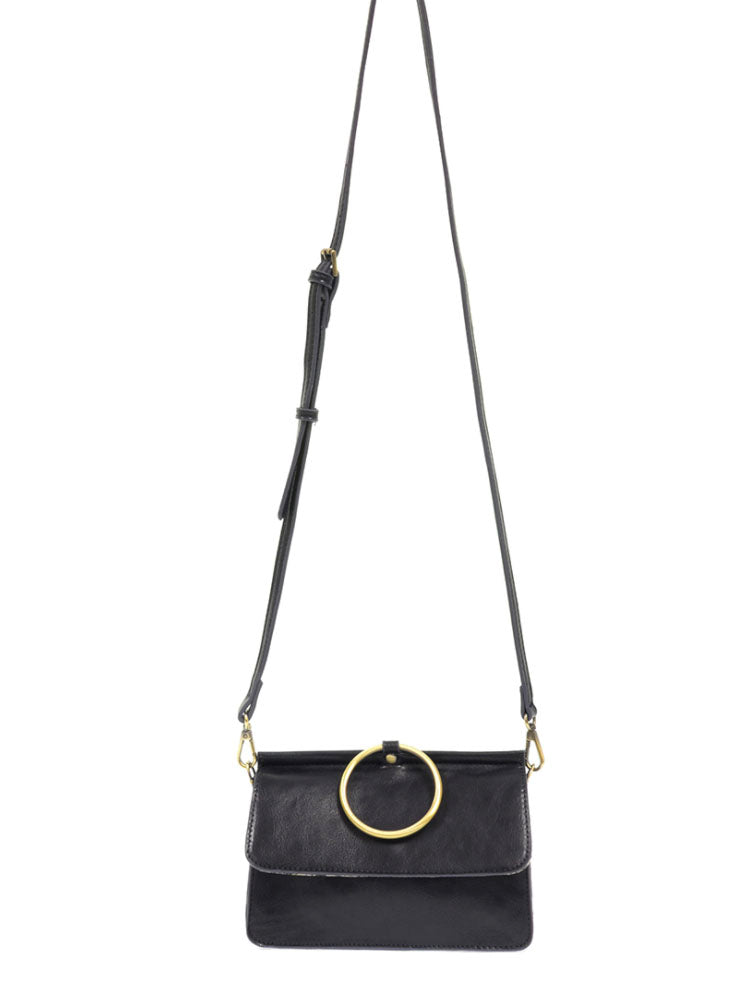 Joy Susan Aria Ring Bag in Navy