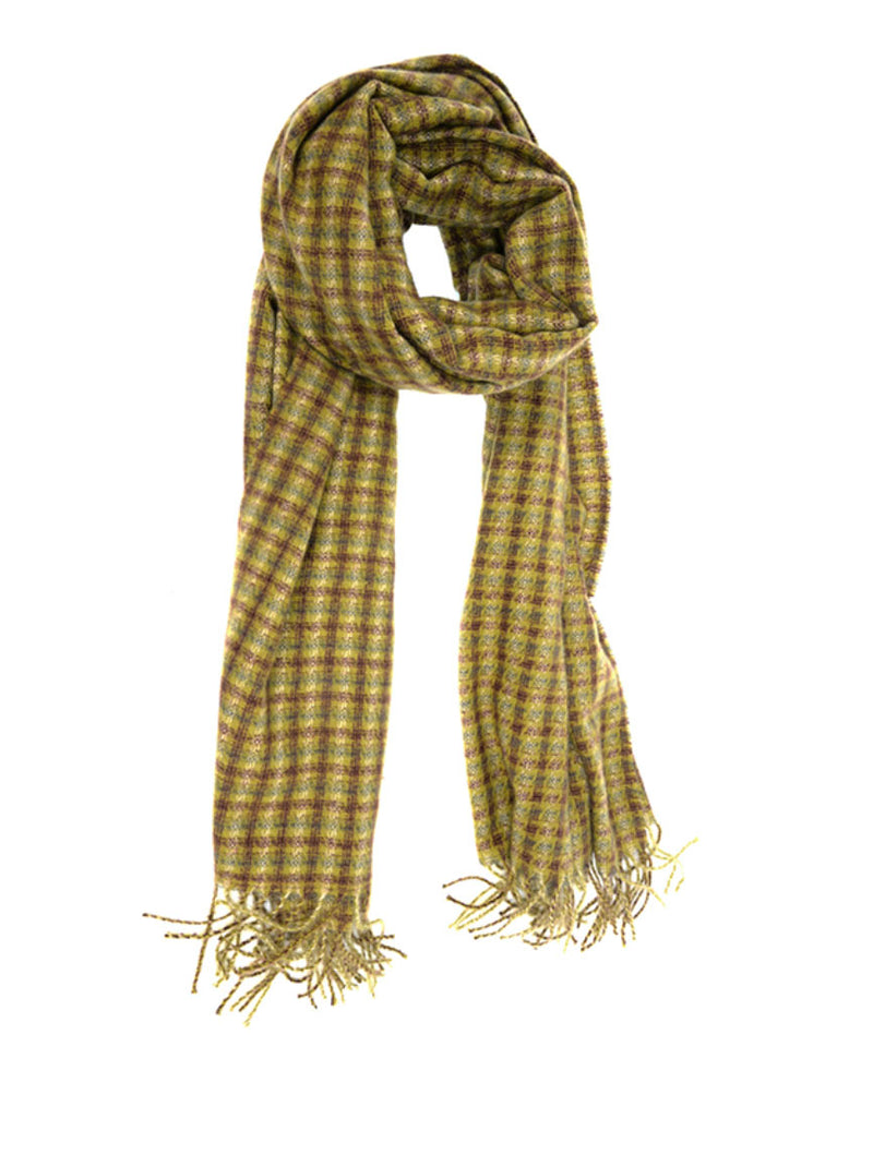 Joy Susan Tattersall Scarf in Olive