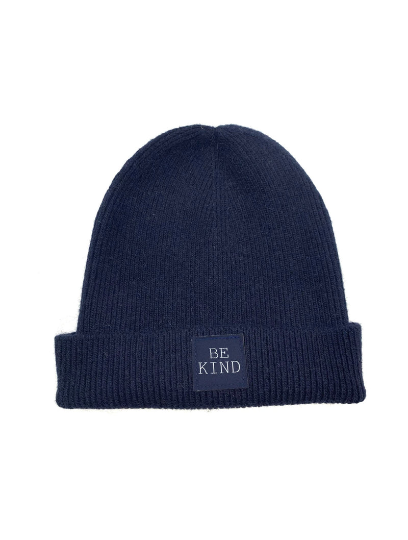 CRC 'Be Kind' Beanie in Navy
