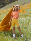 Free People Keep Rolling in Blaze Orange