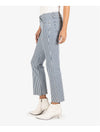 Kut From The Kloth Kelsey Cropped Flare in Ample Wash