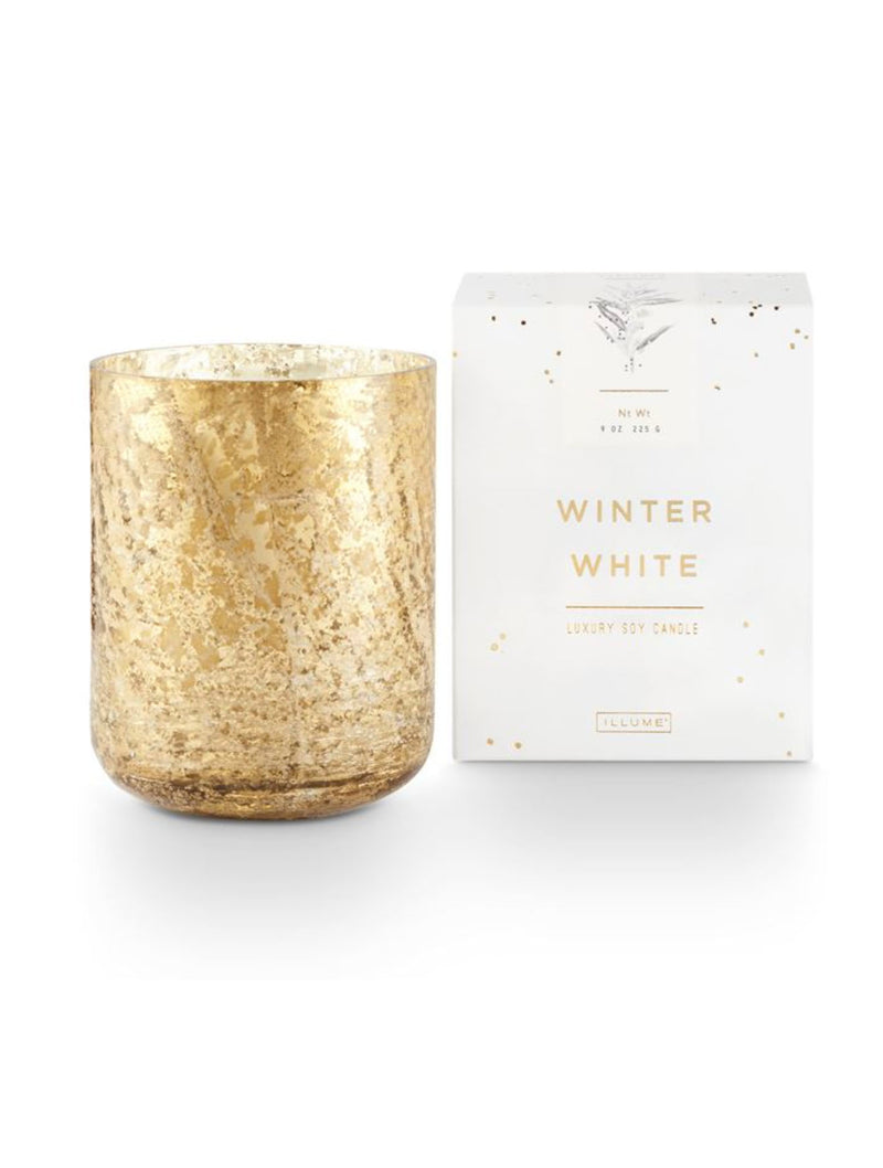 Illume Boxed Winter White Candle