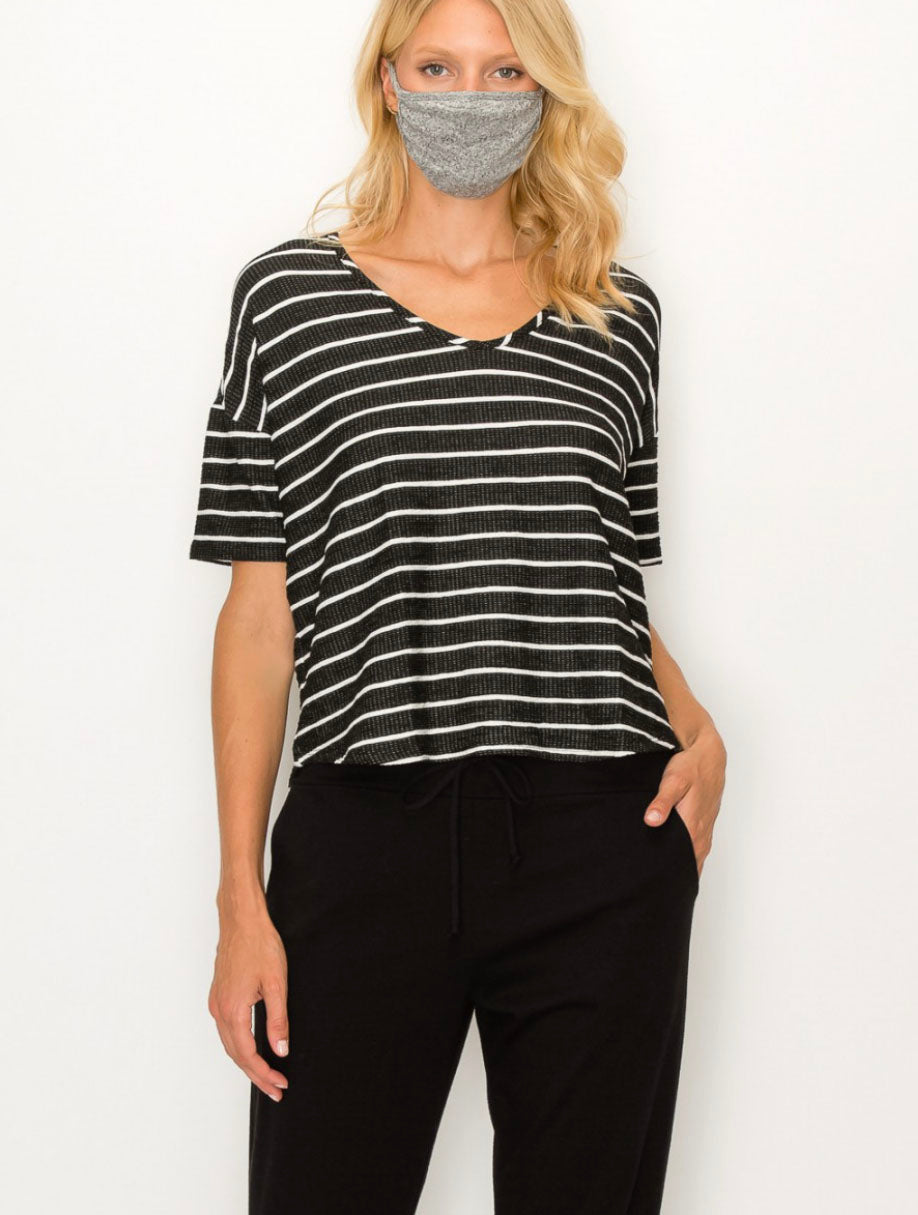Coin 1804 Fuzzy Mask in Grey