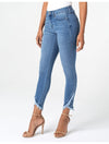 Liverpool Marley Girlfriend Jean w/ Double Roll Cuff in Vista wash