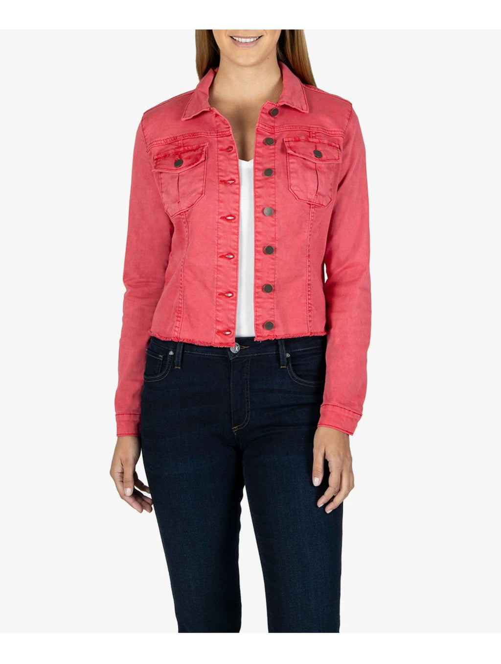 Kut Kara Jacket in Strawberry