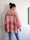 Free People Easy Street Sweater in Sand and Sugar