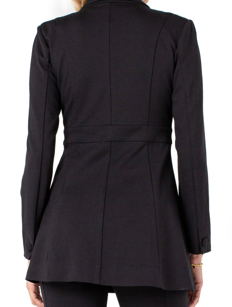 Liverpool Car Coat in Black