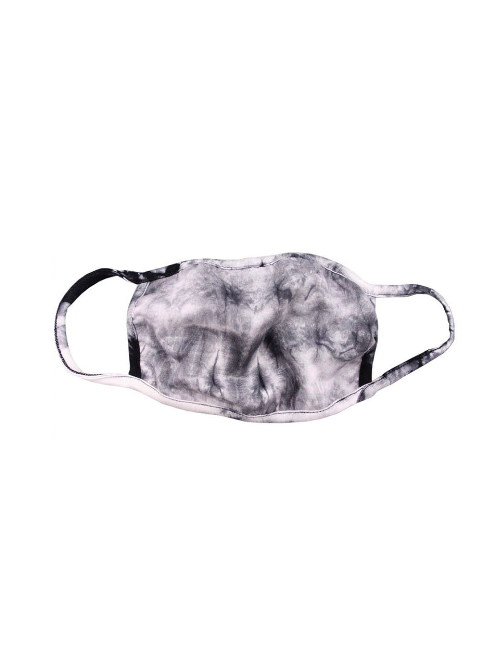 Coin 1804 Tie Dye Mask in Grey/Black