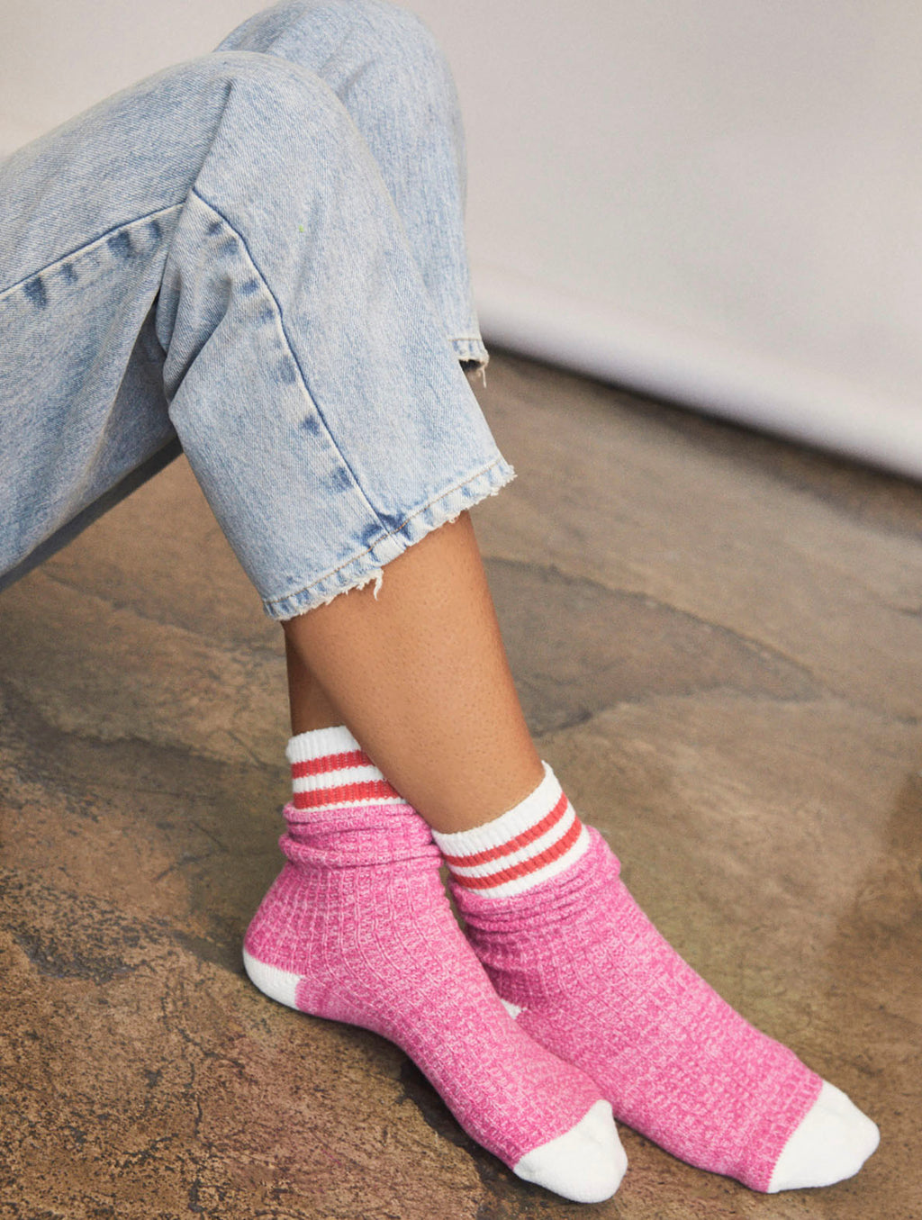 Free People Jackson Sock in Cactus Flower