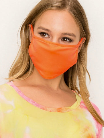 Coin 1804 Neon Jersey Mask in Lemon