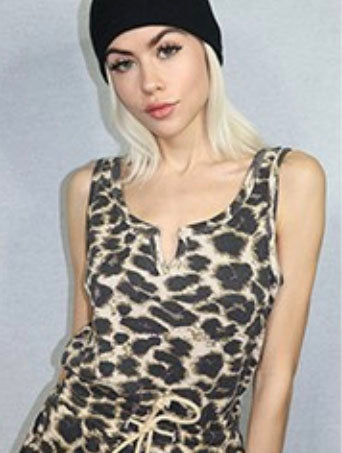 RD Style Lounge Top in Cheetah