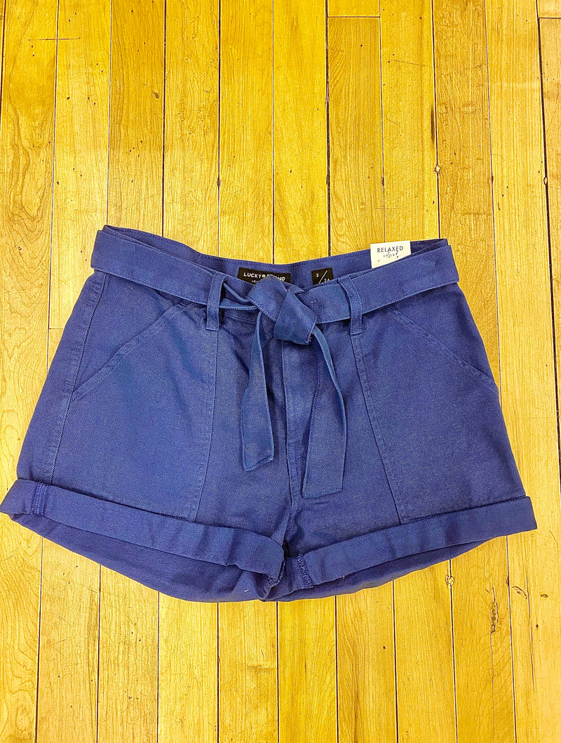 Lucky Brand Utility Short in Dark Blue