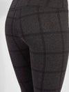 Lysse Signature Legging in Window Pane Charcoal