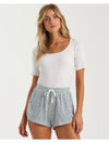 Billabong Drift Away Shorts in Indigo