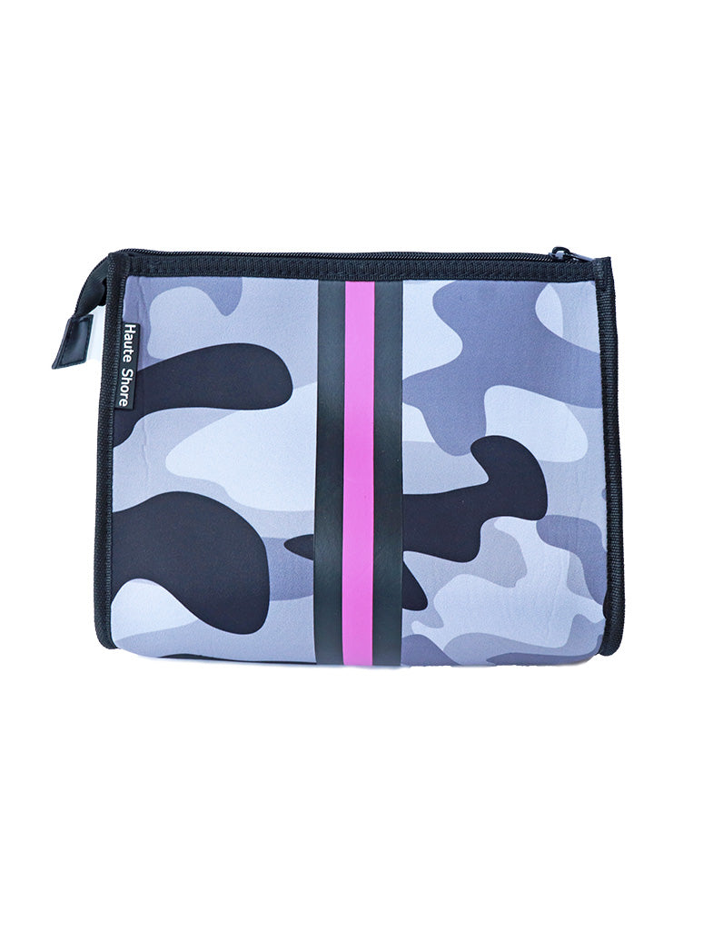 Haute Shore Mark Beat Crossbody Bag in Pink/Grey Camo