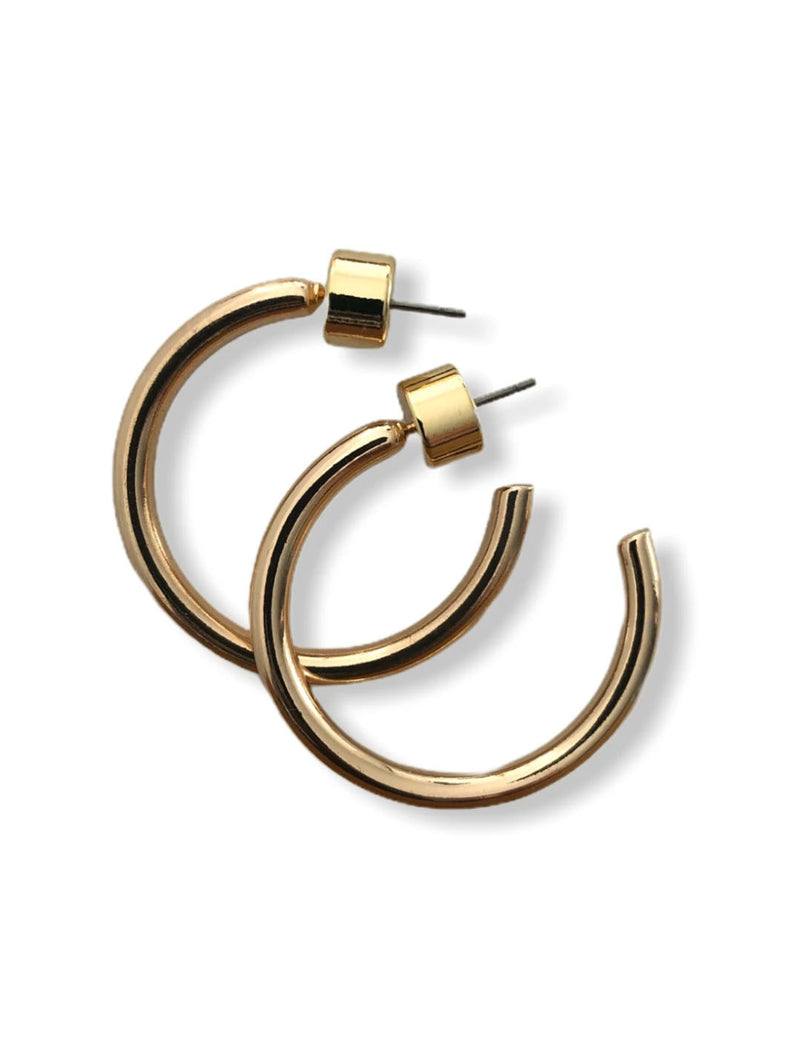 CRC Small Gold Hoop