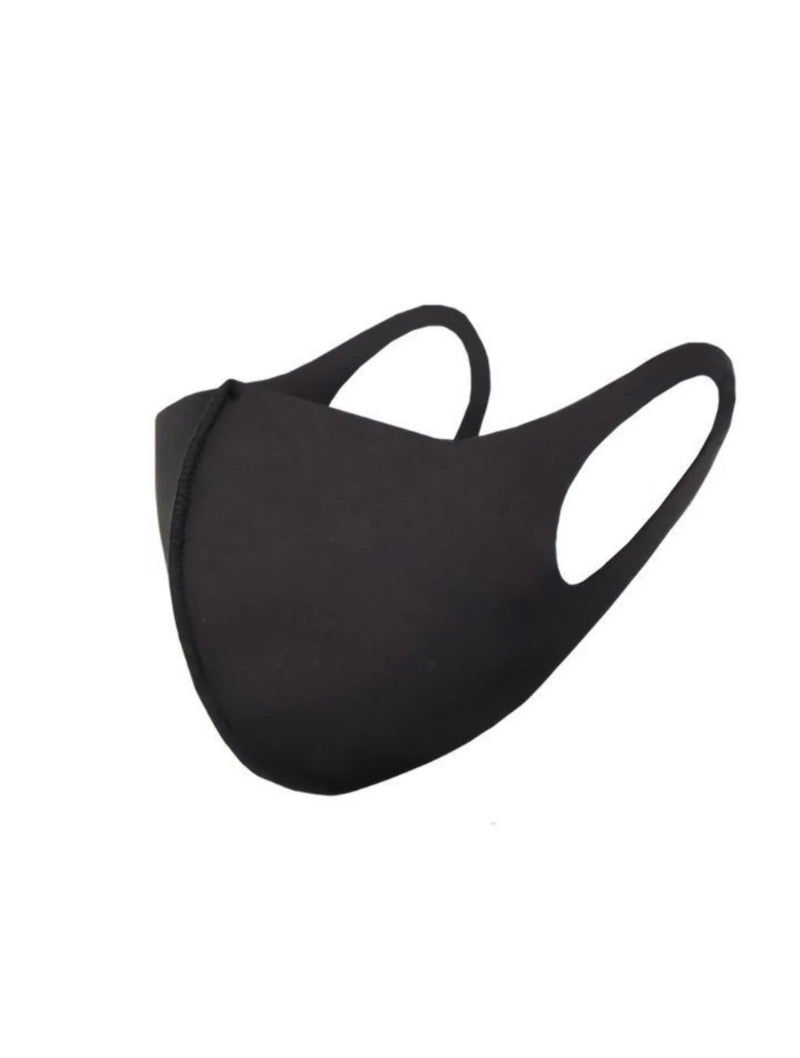 CRC Face Mask in Black