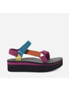 Teva Flatform Sandal in Black