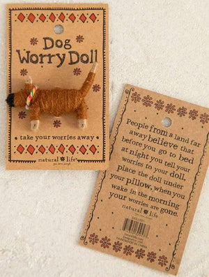 Natural Life Dog Worry Doll