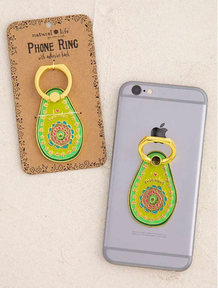 Natural Life Avocado Phone Ring