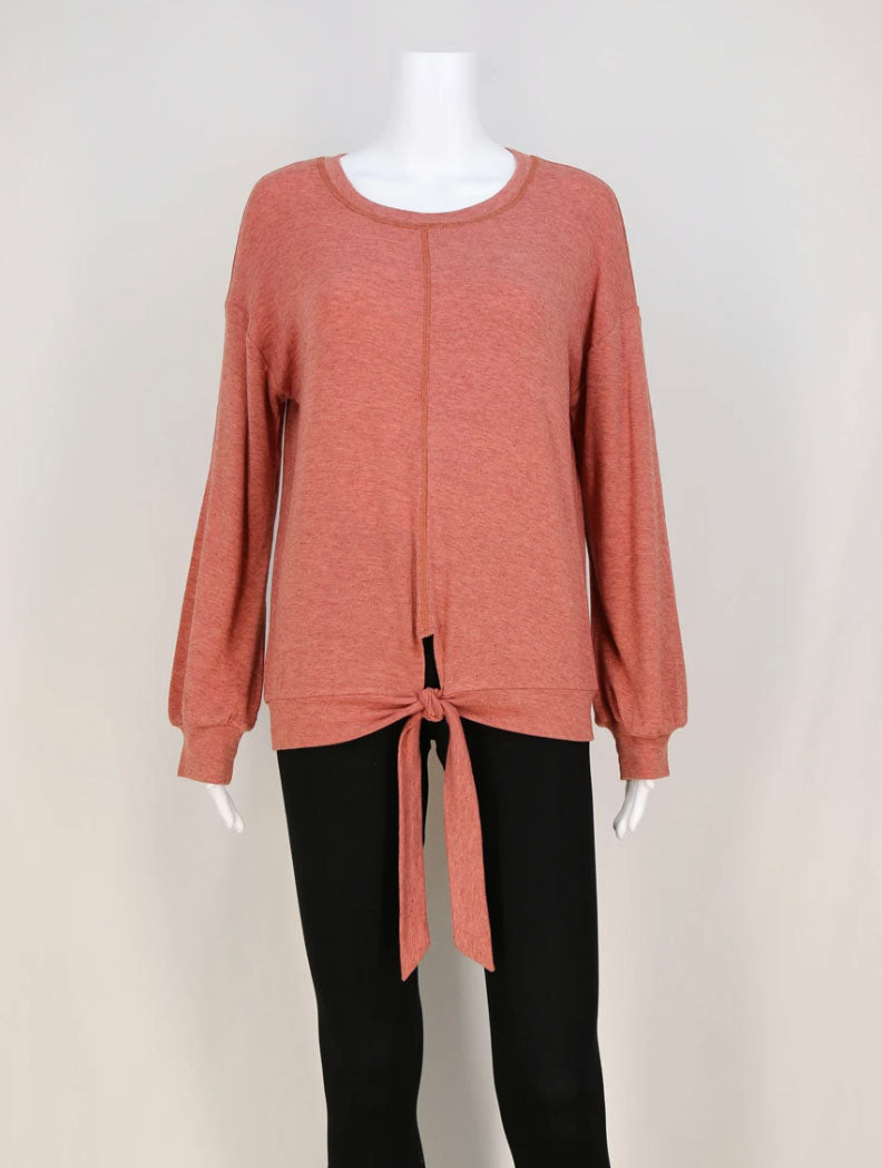 Neesha Tie Waist Top in Sienna