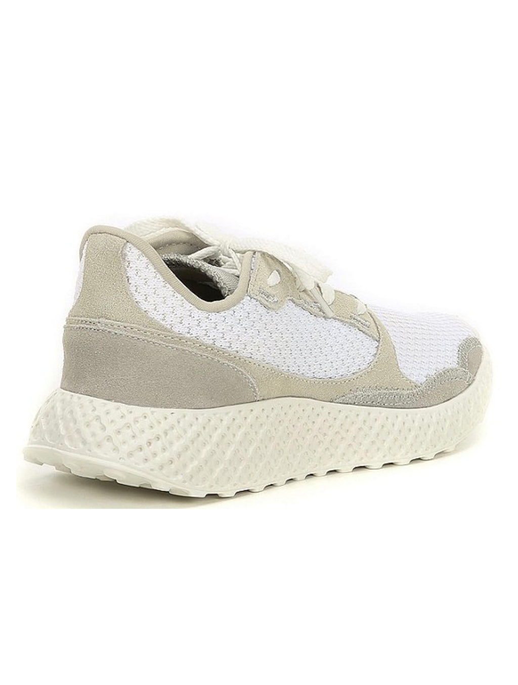 Steve Madden Run Sneaker in White Multi