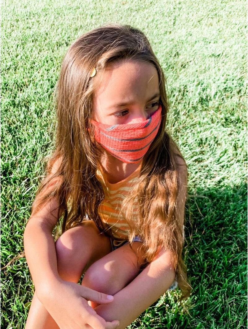 Coin 1804 KIDS Face Mask in Red