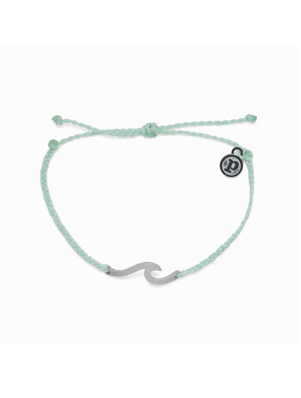 Pura Vida Hammered Wave Bracelet in Winterfresh