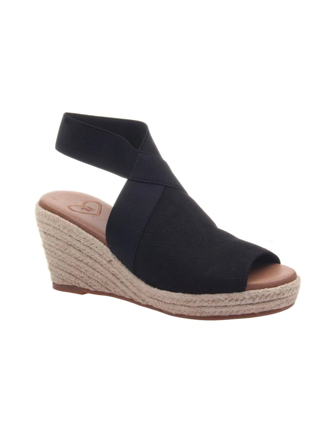 Madeline Girl Sunny Day Wedge in Black