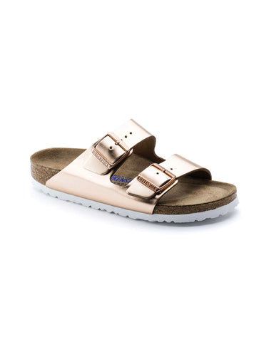Birkenstock Arizona in Antique Copper