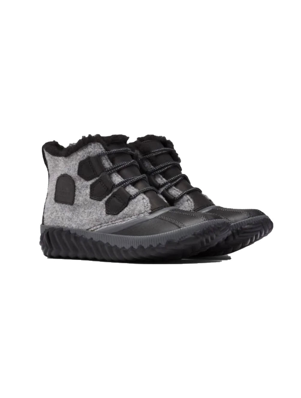 Sorel Out N About Plus in Black Felt