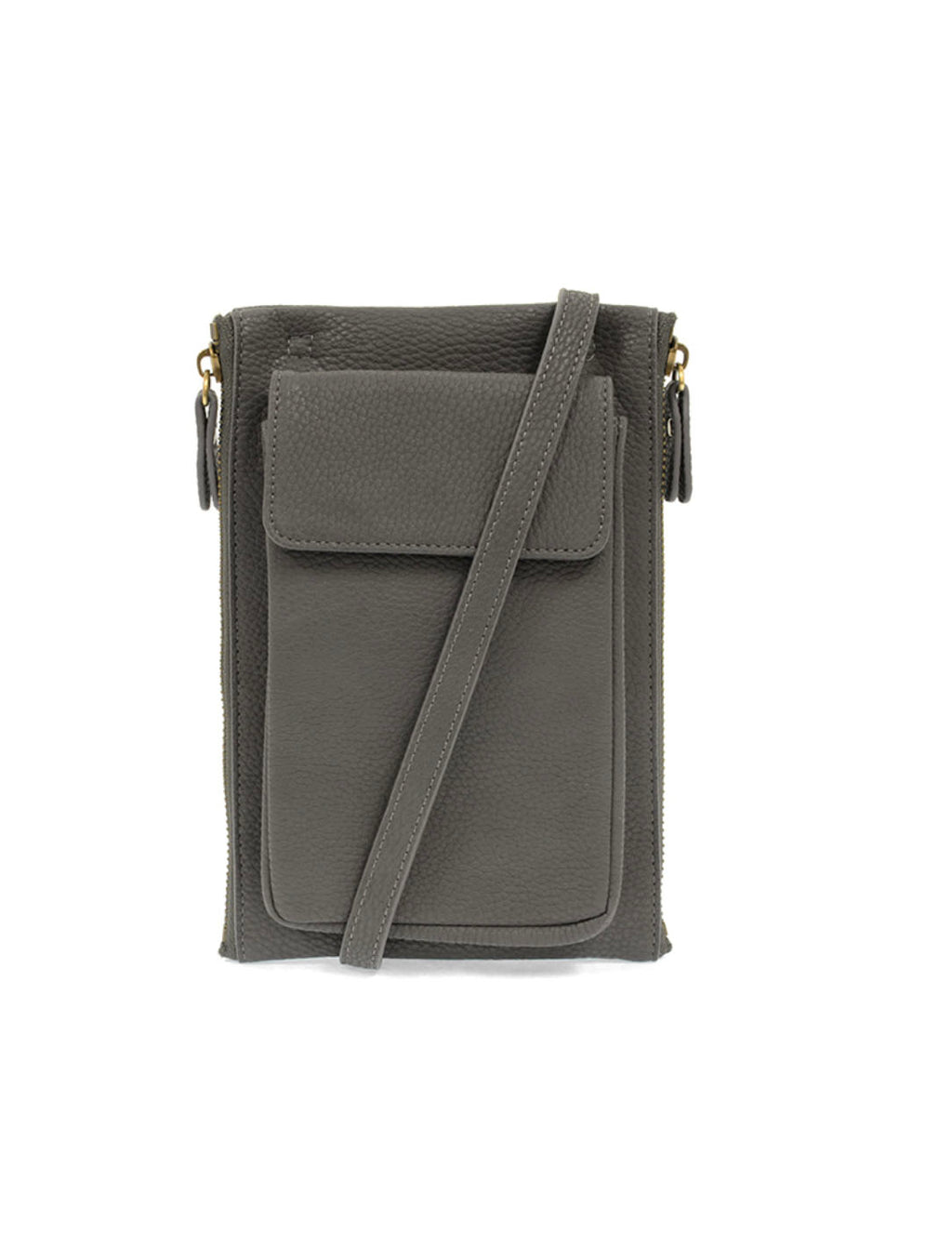 Joy Susan Mary Multi-Pocket Bag in Charcoal