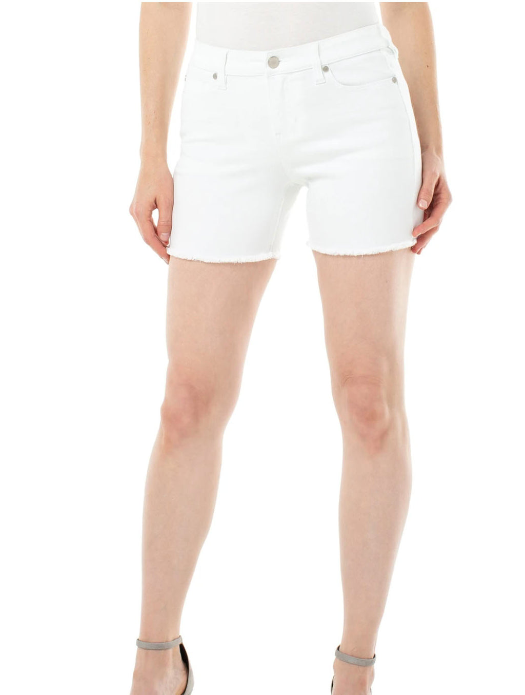 Liverpool Vickie Short in Bright White