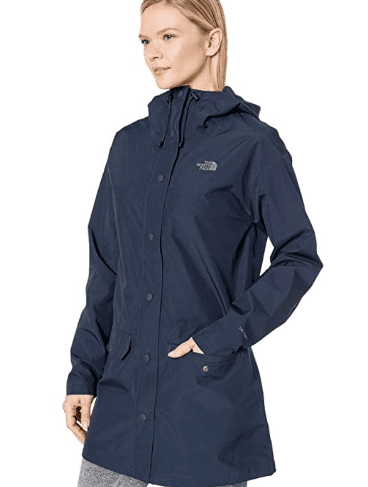 North Face Woodmont Rain Jacket in Navy