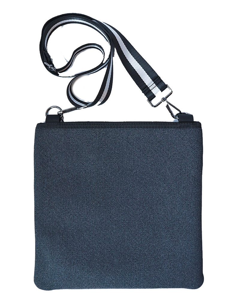 Haute Shore Peyton Crossbody Bag in Black Denim