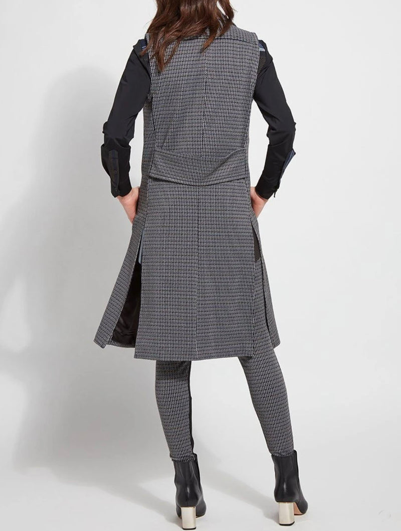 Lysse Tala Trench in Houndstooth