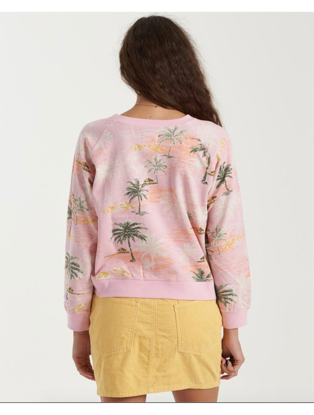 Billabong Sun Shrunk Sweatshirt in Multi