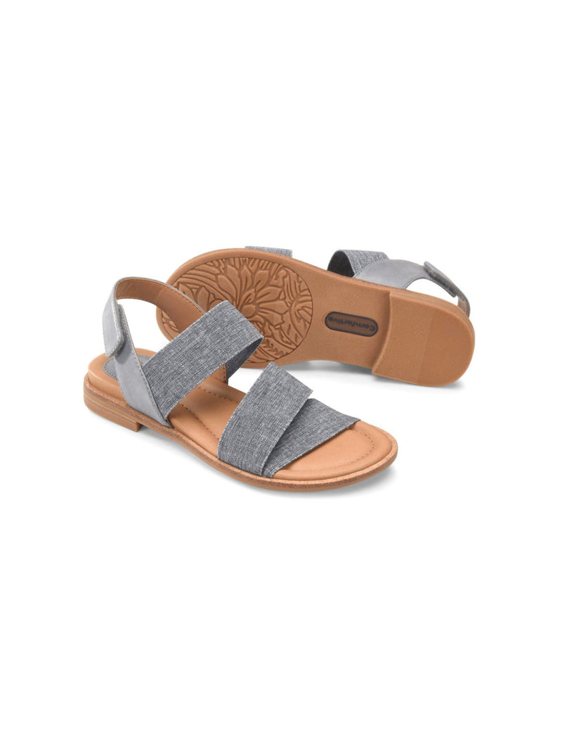 Comfortiva Dacey Sandal in Chambray