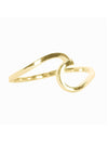 Pura Vida Wave Ring in Gold