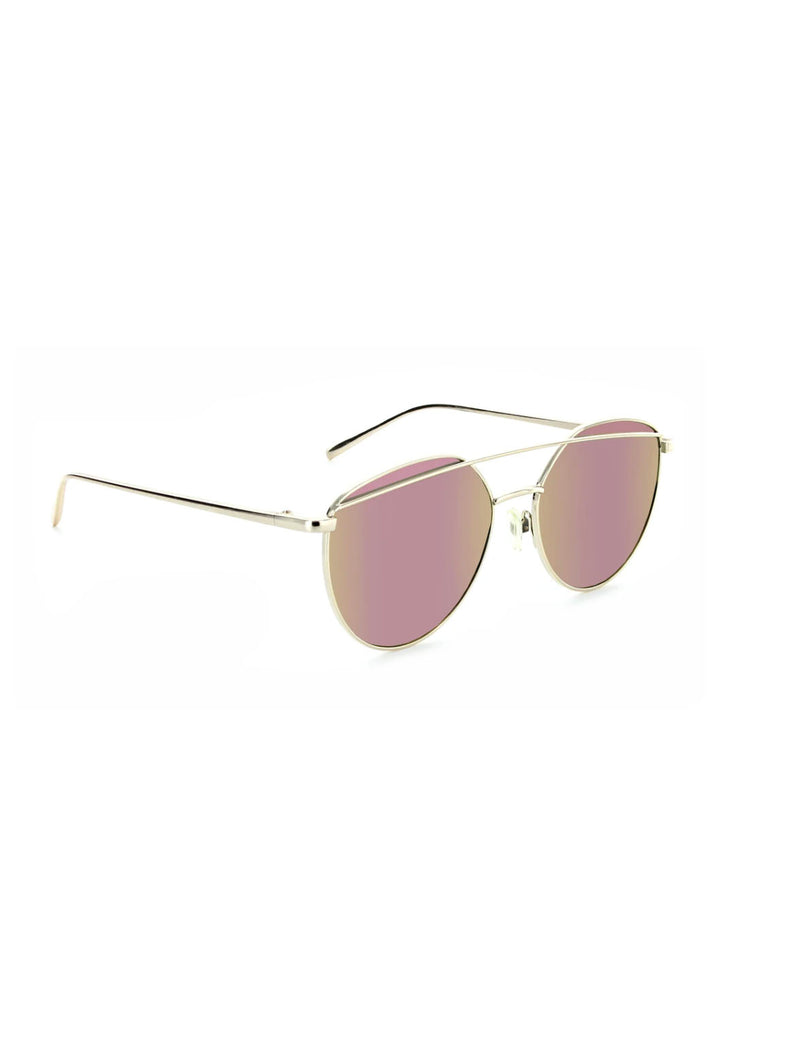 ONE Dulcet Sunglasses in Shiny Gold