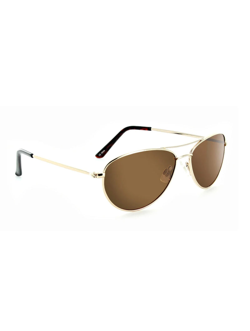 ONE Silver Sunglasses in Shiny Gold