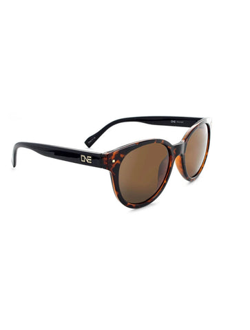 ONE Pizmo Sunglasses in Shiny Dark Demi