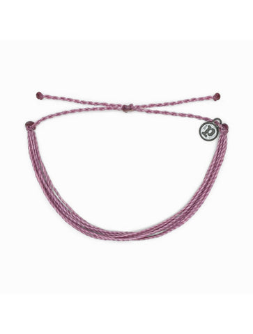 Pura Vida Enamel Wave Bracelet in Light Pink