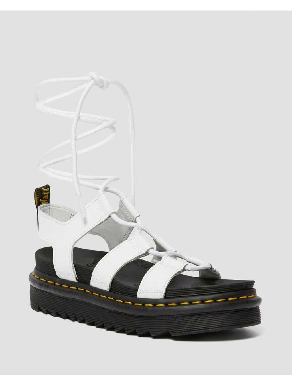 Dr. Martens Nartilla Gladiator in White