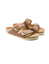 Birkenstock Arizona Big Buckle in Cognac