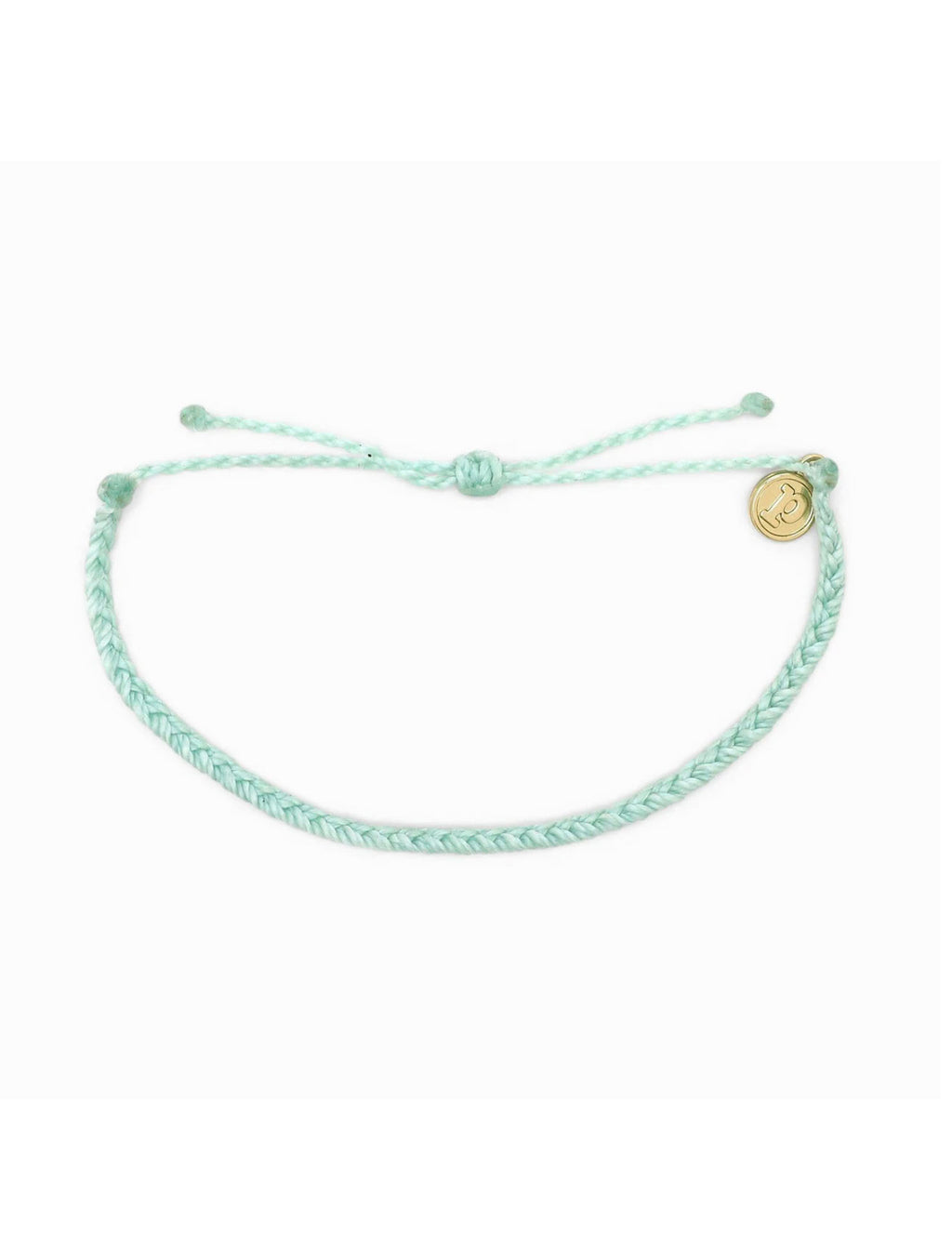 Pura Vida Mini Braid Bracelet in Sea Foam