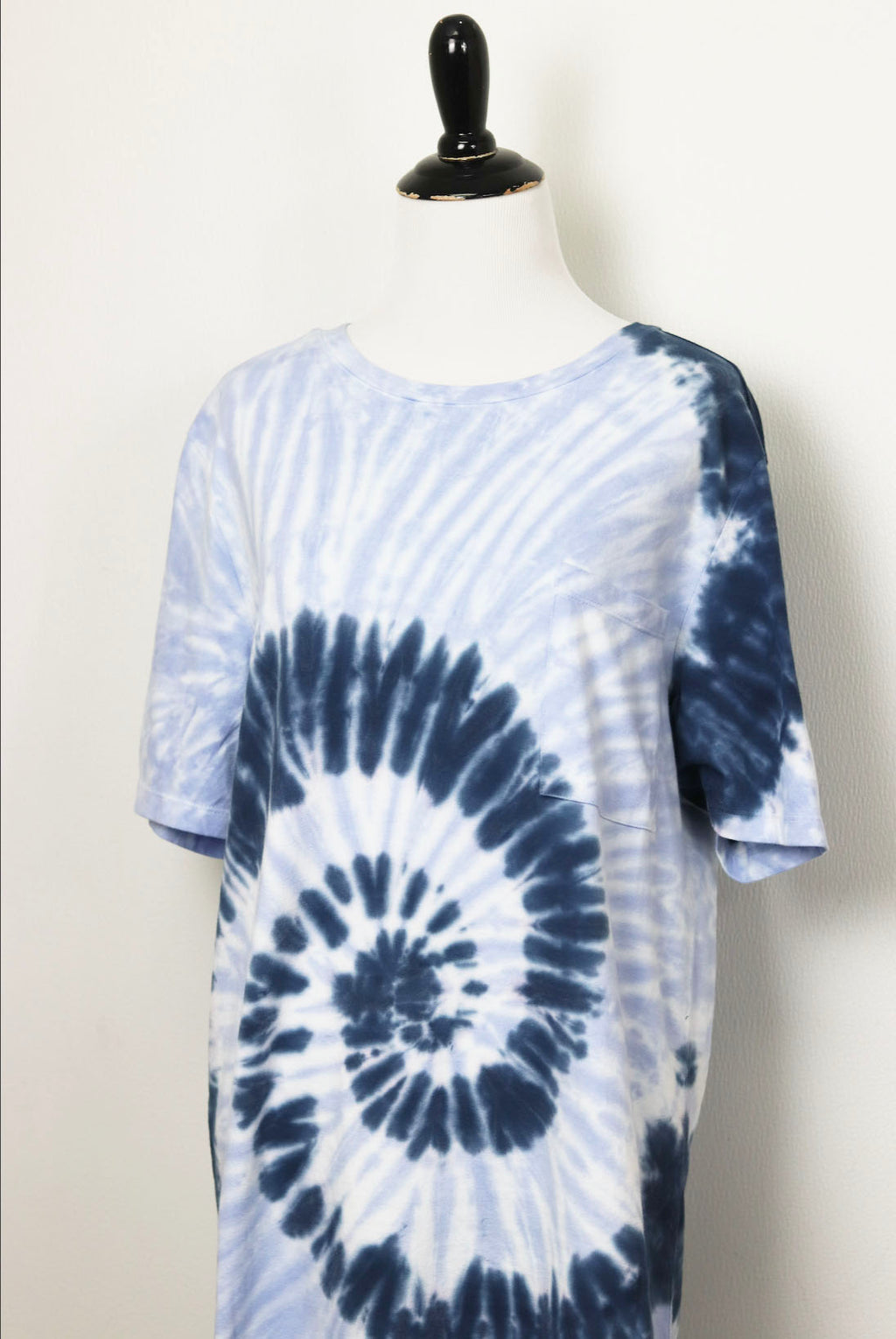 RD Style Tie Dye Dress in Vintage Indigo