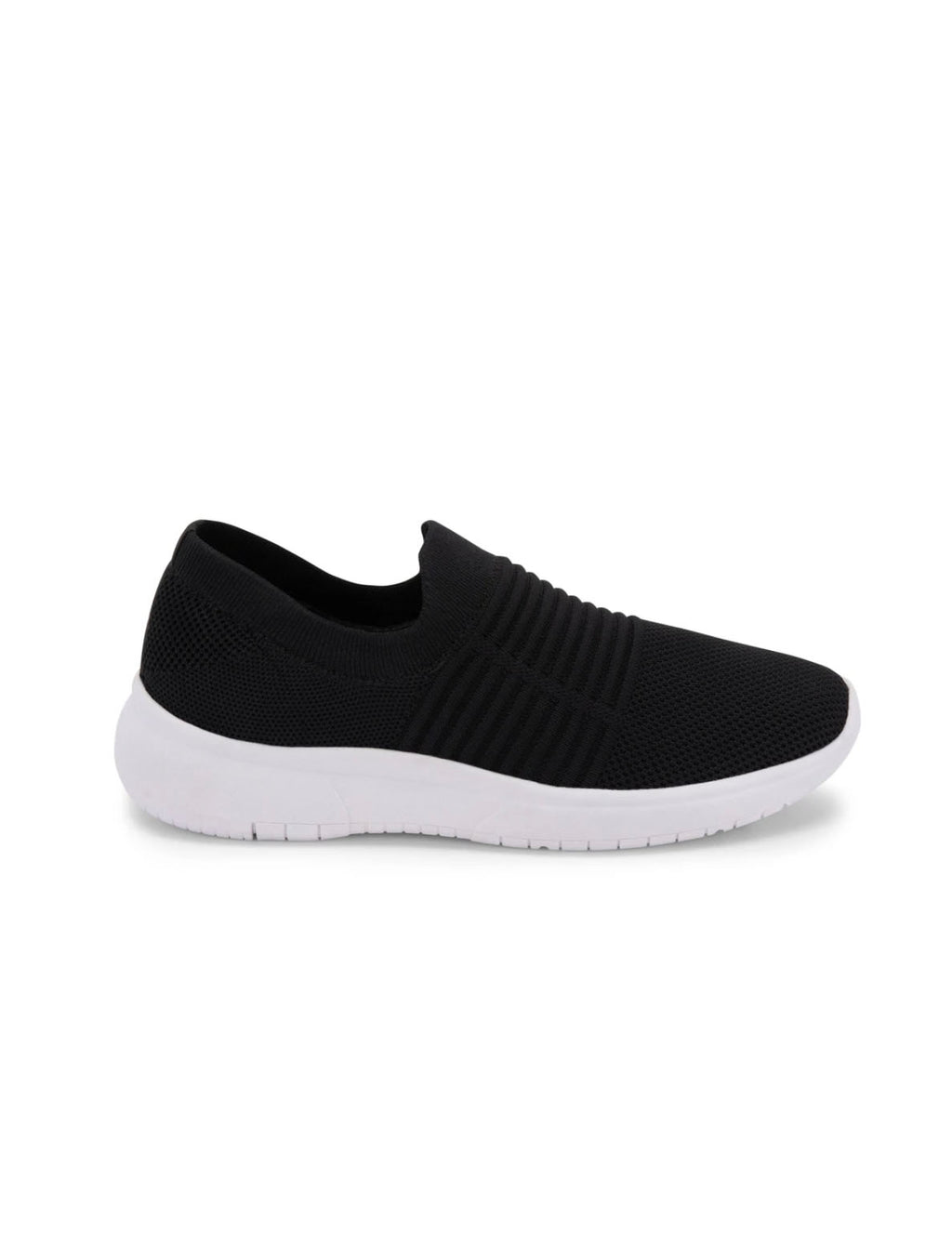 Blondo Karen Knit Slip On Sneaker in Black