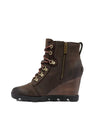 Sorel Joan Uptown Lace Bootie in Blackened Brown