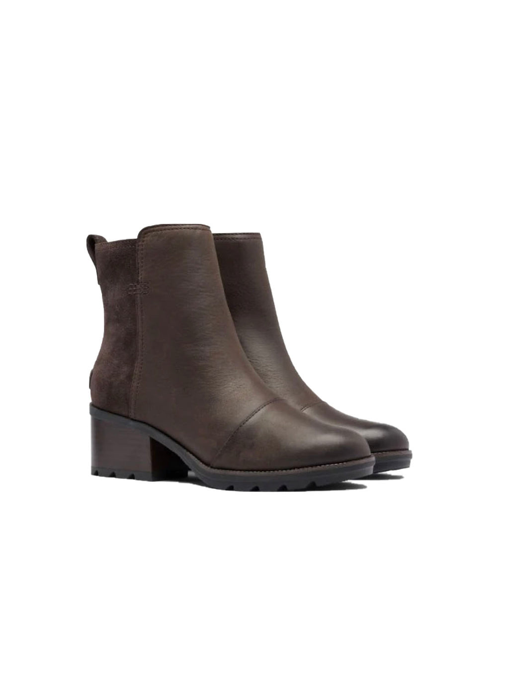 Sorel Cate Bootie in Blackened Brown